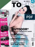 FOTOHITS - Fotografieren Und Filmen - No 05-2013