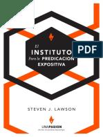Predicación Expositiva - S. Lawson