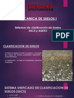 Sistemas de Clasificación de Suelos SUCS y ASHTO