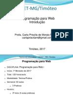 PW 1BIm-Aula 01 - Apresentação