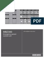MBZ300-montaza