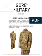 GORE Katana Fabric_Product Sheet_GORE Product