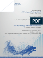 Report on the Psychology Symposium MA 14218