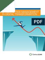 EFFECTIVE RISK MANAGEMENT IN DIGITAL TRANSFORMATION