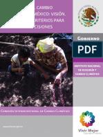 Adaptación Al Cambio Climático en México Visión, Elementos y Criterios Para La Toma de Decisiones