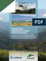 Cartilla Paisaje Productivo Protegido Ledesma 1 1 Fund Proyungas