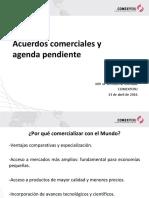 Comexperu-Acuerdos Comerciales y Agenda Pendiente