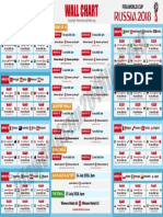 FIFA World Cup 2018 Fixtures Wallchart PDF
