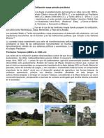Civilización Maya Periodo Preclásico