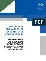 Analisis de La Cadena de Valor Quinua