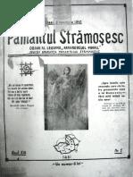 Pamantul Stramosesc anul XIII (serie noua) nr. 1, 8 noembrie 1940