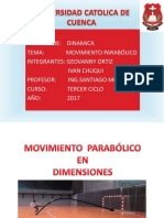 Movimiento Parabólico 1