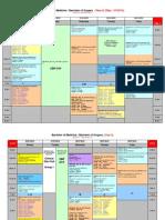 MED2042 Timetable 2010 3rd September 2010