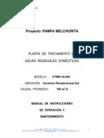 AGUA CLEAR Manual 2 PMH-10,000 (Metalica, Con Tanque de Ecualización)