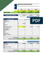 Planilla de control de gastos
