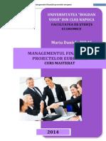 MM3 2103 - Managementul Proiectelor Dezv.durabile
