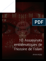 10 Assassinats Emblematiques en Islam