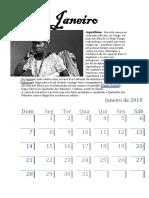 Calendario Afro