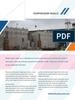 Diaphragm Wall