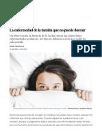 La Enfermedad de La Familia Que No Puede Dormir _ Ciencia _ EL PAÍS