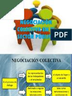 Negociacion Colectiva en Sector Publico Laboral.