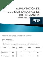 ALIMENTACIÓN DE TERNERAS EN LA  FASE DE PRE-RUMIANTES i.ppt