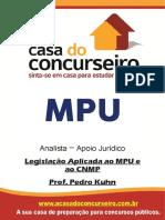Apostila MPU Legislação Aplicada