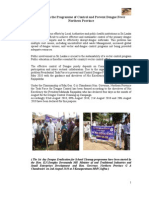Report on the Programme of Control and Prevent Dengue Fever