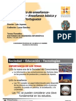 Modelo mixto de enseñanza-aprendizaje - presentation PhD