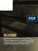 RelatrioCNDHPFDCeCONANDAsobremedidascautelaressocioeducativoCear
