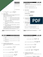 Math Formula Sheet AIEEE