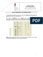 Como Registrarse en Endnoteweb