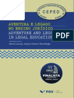 Aventura e Legado No Ensino Jurídico - Adventure and Legacy in Legal Education