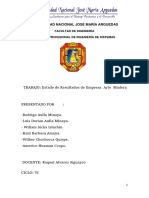Arte y Madera Informe Final