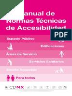 Manual Normas Tecnicas Accesibilidad 2016 - Mexico