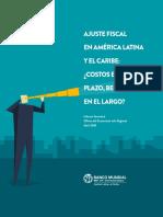 Ajuste Fiscal en América Latina y el Caribe