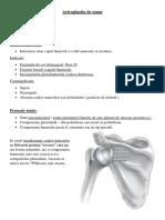 Microcurs 9 - Alte Artroplastii