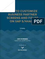 Customize Business Partner Screens S4H