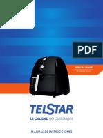 Manual Freidora Tfa004210md