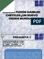 Caso La Fusión Daimler Chrysler