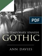Contemporary Spanish Gothic - Ann Davies