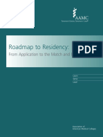AAMC Roadmap to Residency