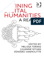 Melissa M. Terras - Defining Digital Humanities