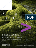 Accenture Banking IT Resilience Getting to the Root of the Problem