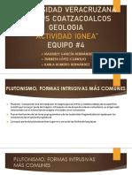 GEOLOGIA ROCAS IGNEAS