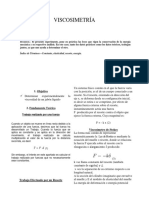 Informe 1 Viscosimetría