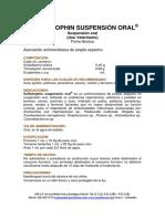Ficha Tecnica Sulfatrophin Oral