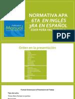 Normativa Apa 2014