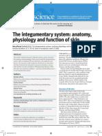 Integumentary, Anatomy, Function