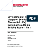 NFPA-RF Development Fire Mitigation Solutions